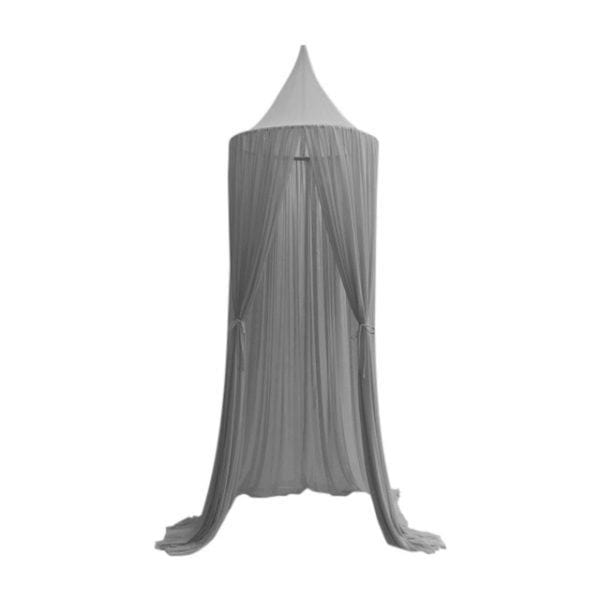 Raspberry Lane Boutique Sheer Canopy - Smoke