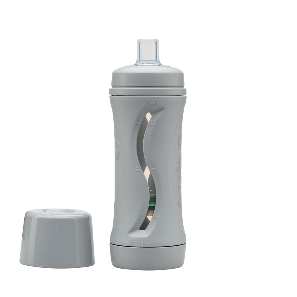 Raspberry Lane Boutique Subo Food Bottle - Grey (Pre-Order)