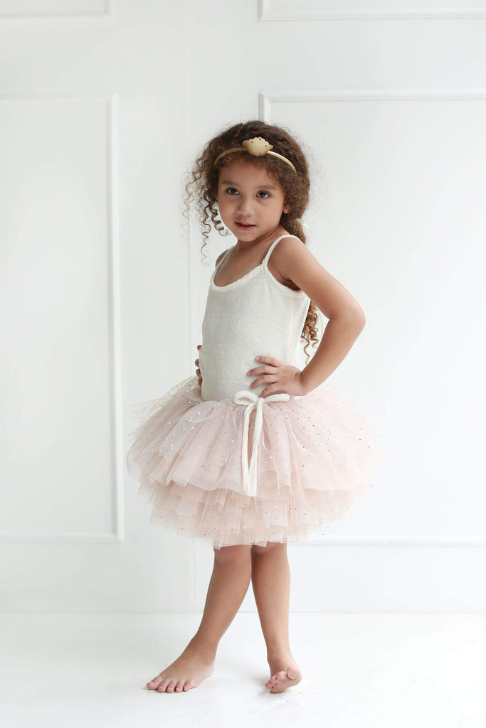 Raspberry Lane Boutique Swan Princess Tutu - Champagne
