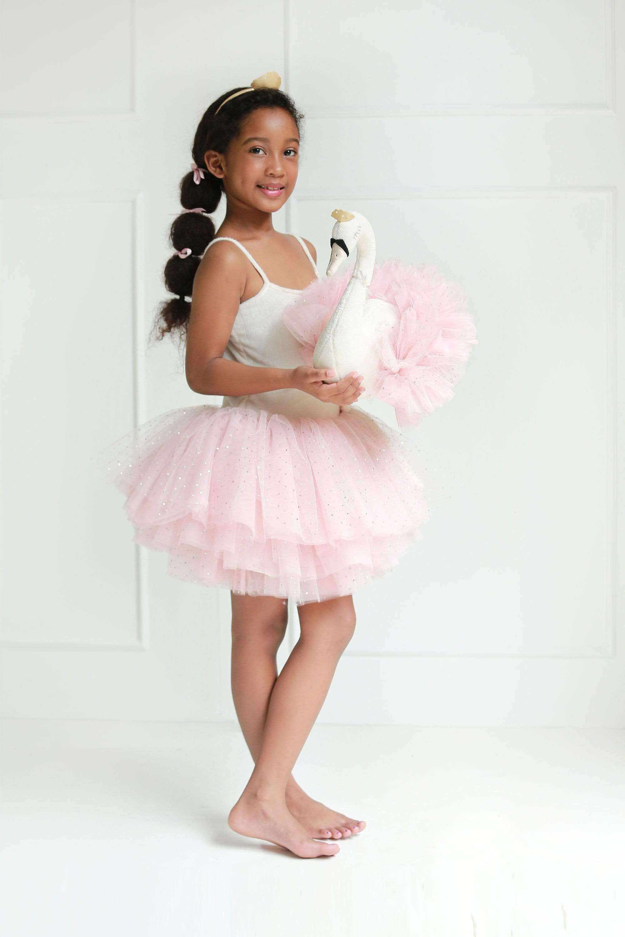 Raspberry Lane Boutique Swan Princess Tutu - Light Pink