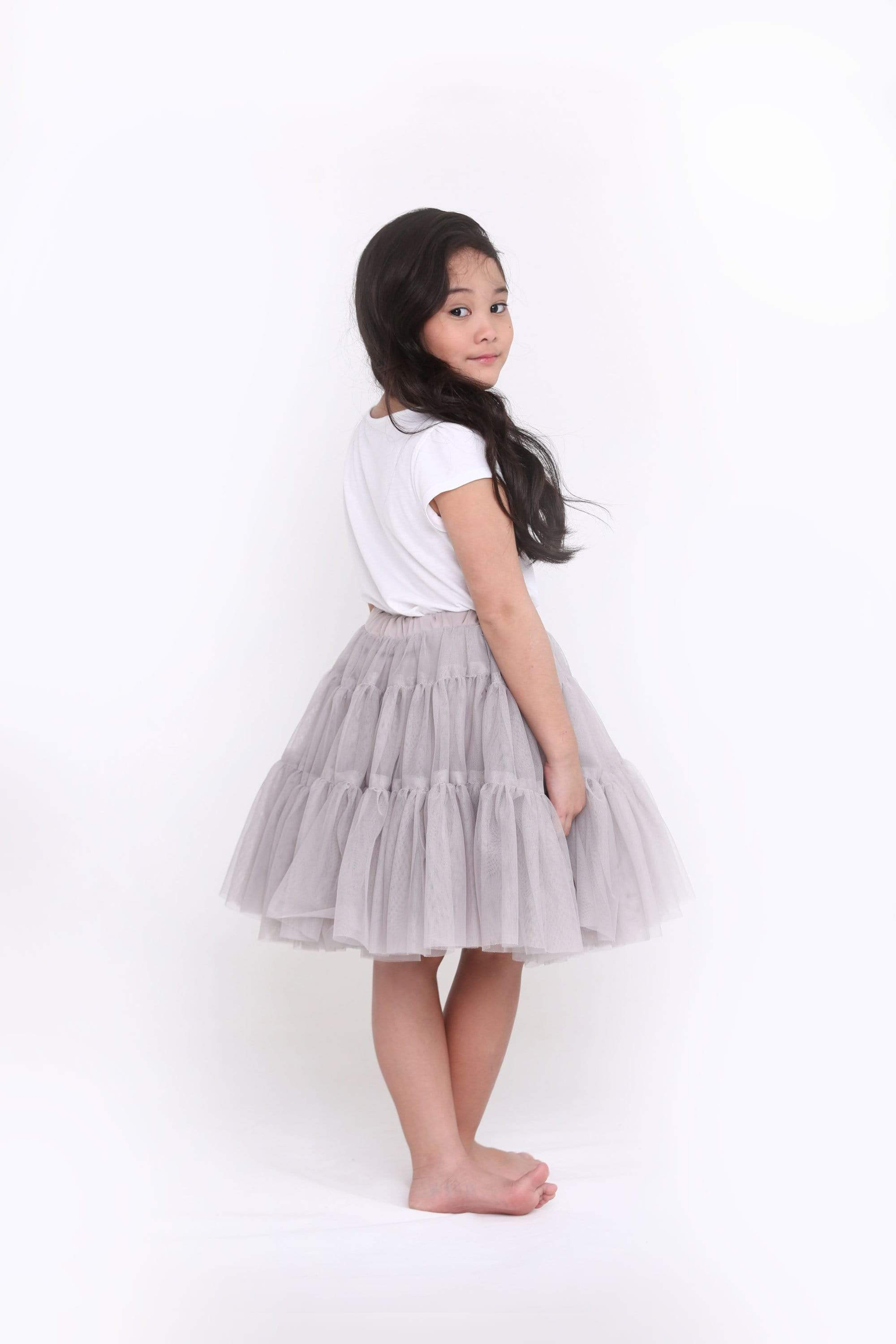 Raspberry Lane Boutique The Classic Tutu - Oyster