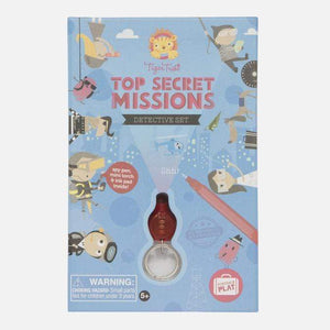 Raspberry Lane Boutique Tiger Tribe - Top Secret Missions