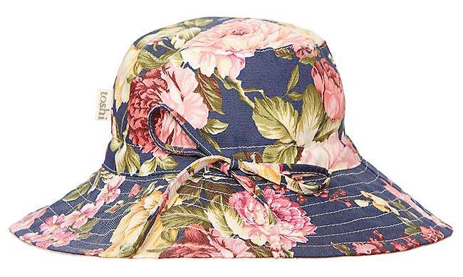 Raspberry Lane Boutique Toshi Beach Hat Tropicana - Provence