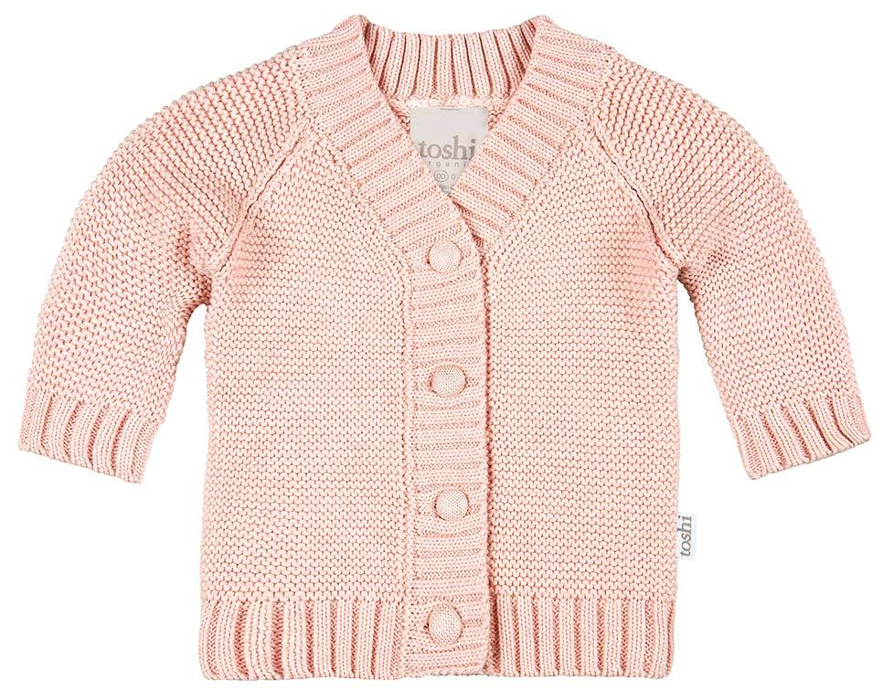Raspberry Lane Boutique Toshi Organic Cardigan - Andy / Peony
