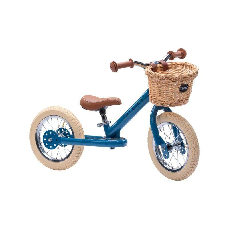Raspberry Lane Boutique Trybike 2-in-1 Steel Balance Bike - Vintage Blue