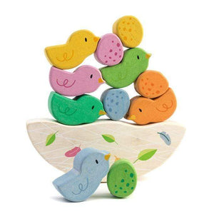 Raspberry Lane Boutique Wooden Rocking baby birds