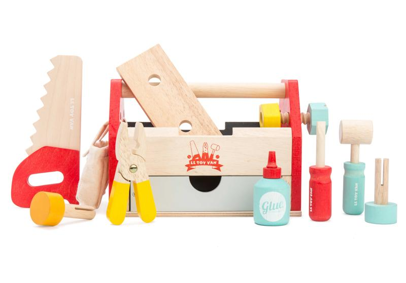 Raspberry Lane Boutique Wooden Tool Box - Le Toy Van
