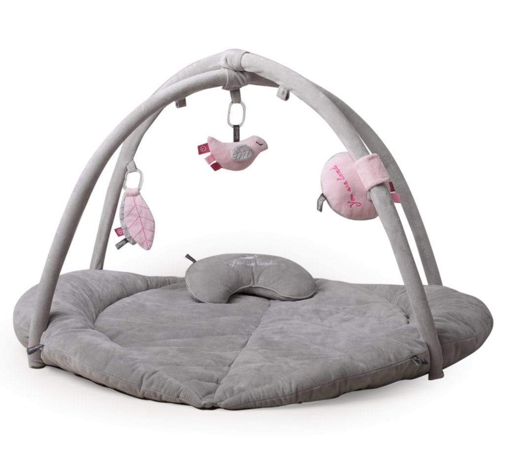 Raspberry Lane Boutique Woodlands Play Gym - Baby Activity Gym - Pink