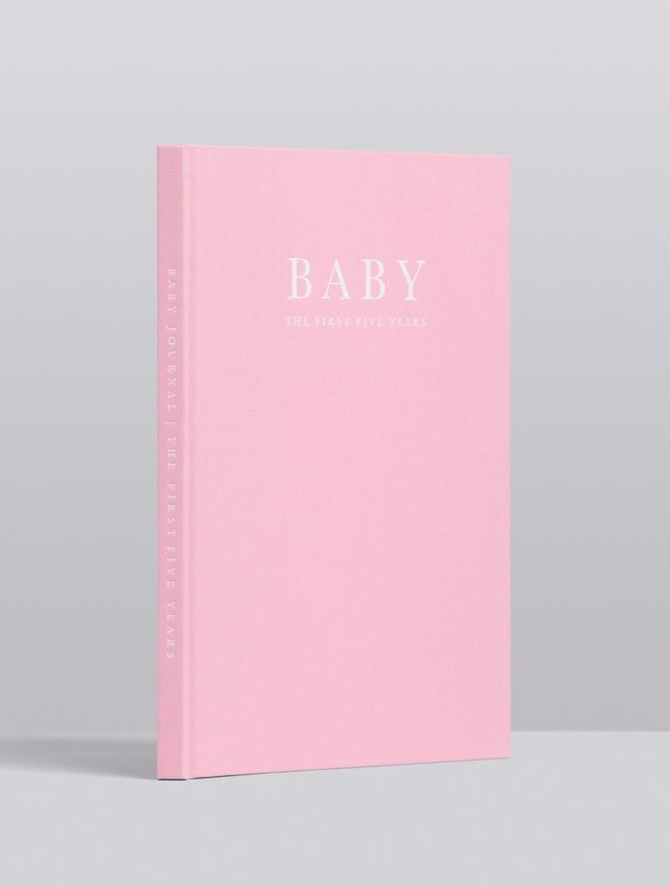Raspberry Lane Boutique Write To Me Baby Journal - Birth to Five Years - Pink