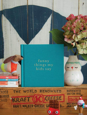 Raspberry Lane Boutique Write To Me - Funny Things My Kids Say - Jade