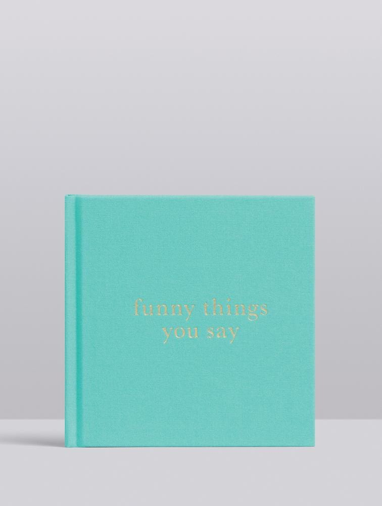 Raspberry Lane Boutique Write To Me - Funny Things You Say - Mint