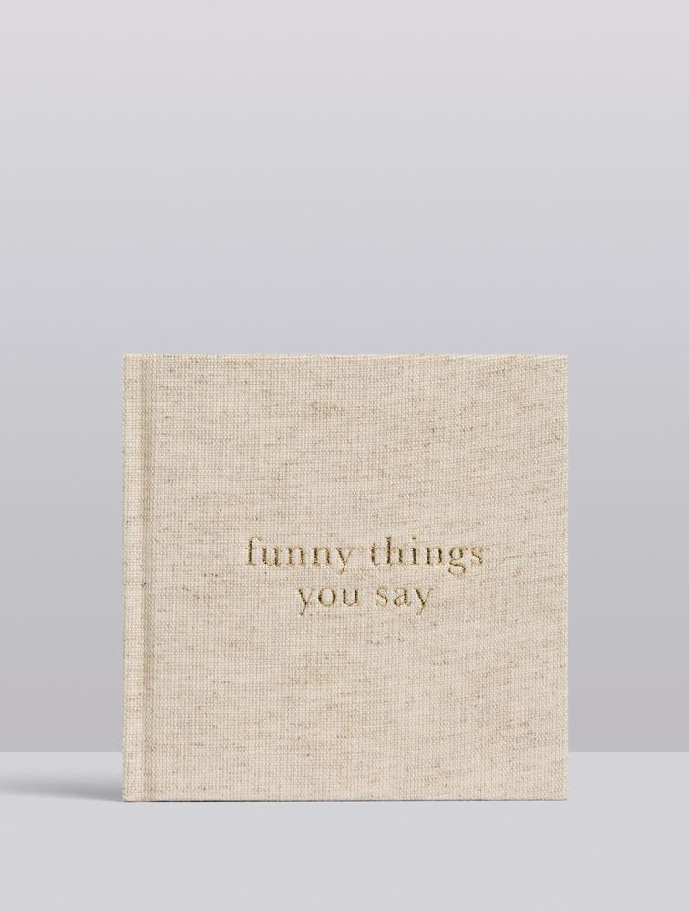 Raspberry Lane Boutique Write To Me - Funny Things You Say - Oatmeal