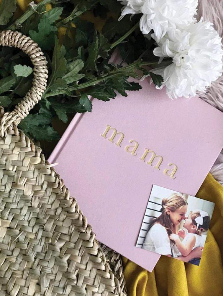 Raspberry Lane Boutique Write To Me - Mama. Tell Me About It - Book