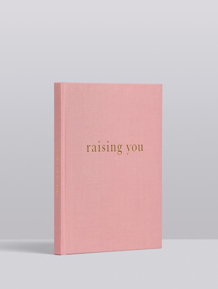 Raspberry Lane Boutique Write To Me - Raising You, Letters to My Baby - Pink