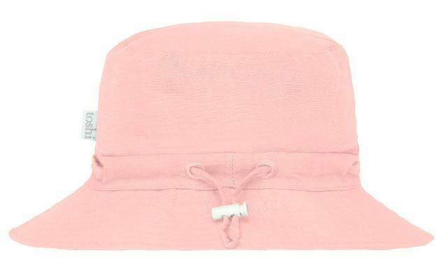 Raspberry Lane Boutique XL Toshi Sunhat Olly - Dusty Rose