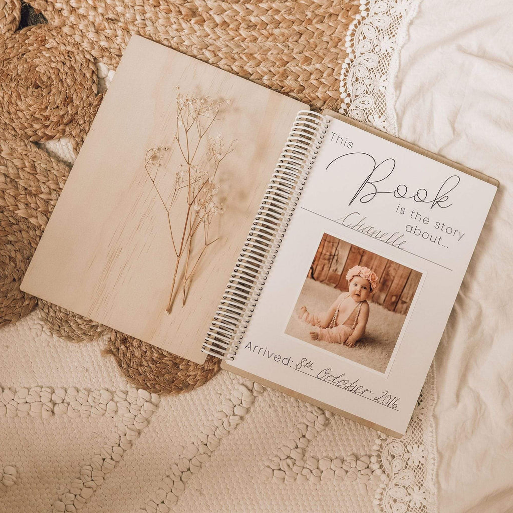 Raspberry Lane Boutique Your Story - A Baby Memory book