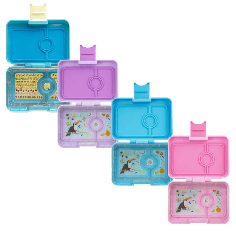 Raspberry Lane Boutique Yumbox Minisnack - Cannes Blue