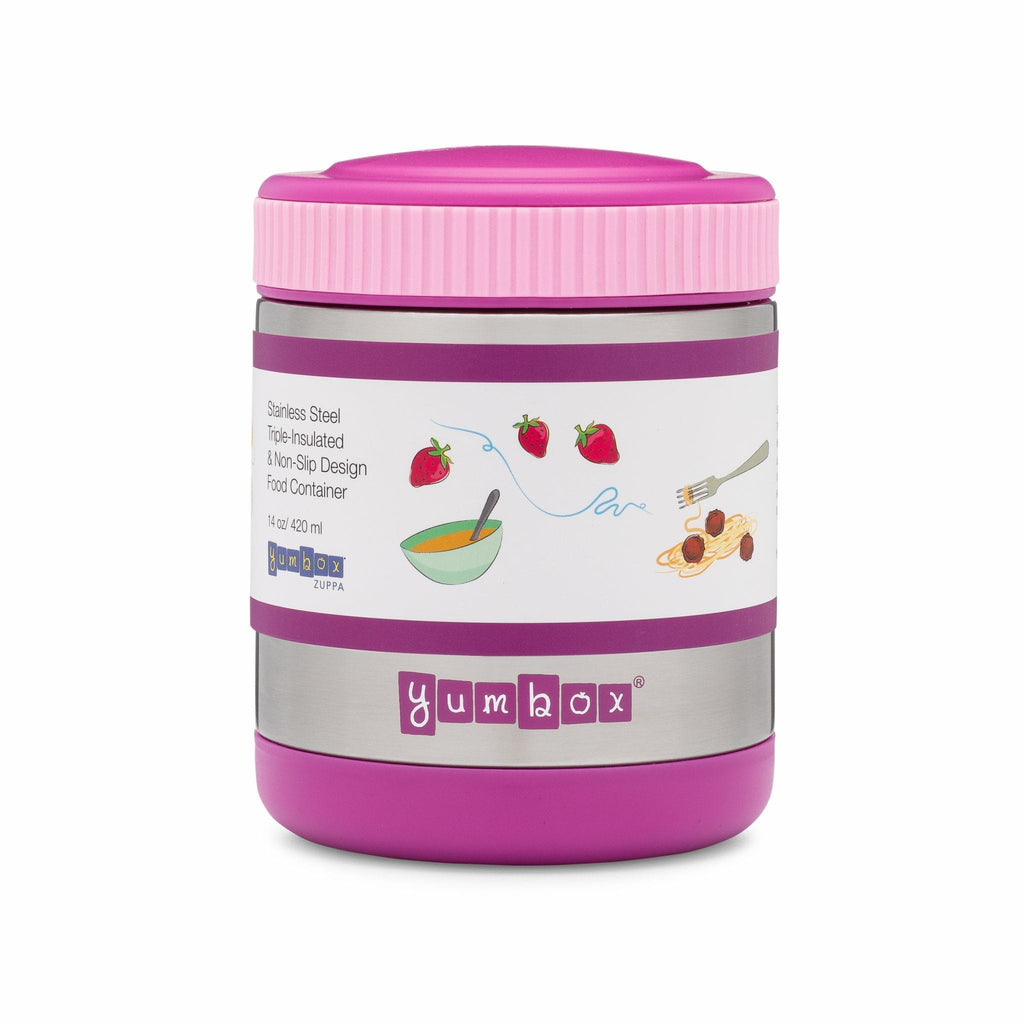Raspberry Lane Boutique Yumbox - Zuppa Insulated Food Jar - Bijoux Purple