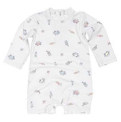 Toshi Swim Onesie Toshi Swim Onesie Long Sleeve - Rock Pool