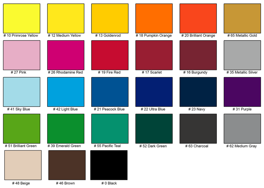 Standard parking permit colors - All Things Identification