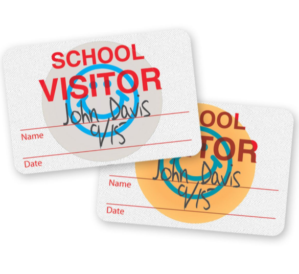 education id solution expiring visitor badges