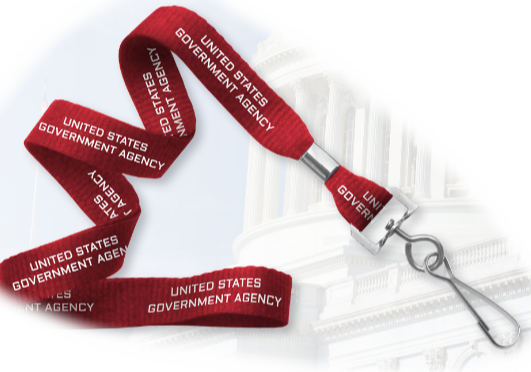 government id solution badge lanyard