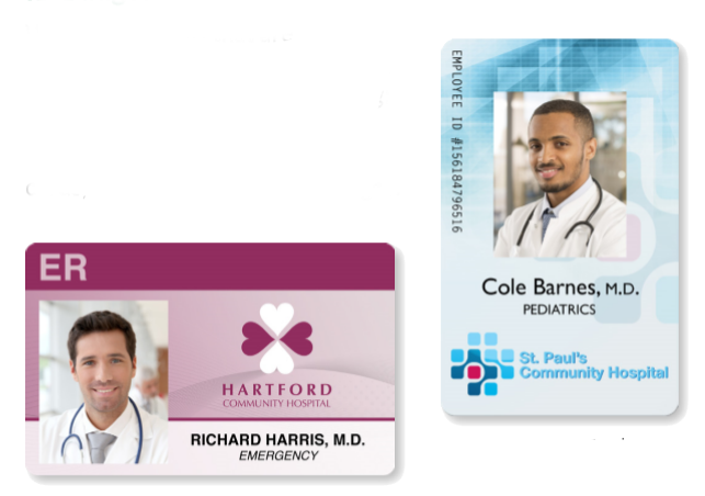 healthcare-custom-id-cards
