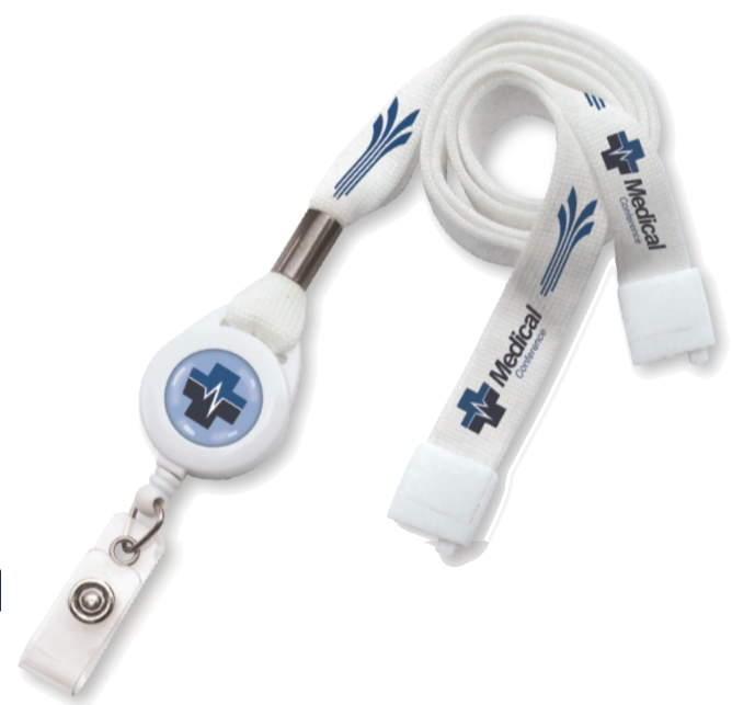healthcare retractable lanyard