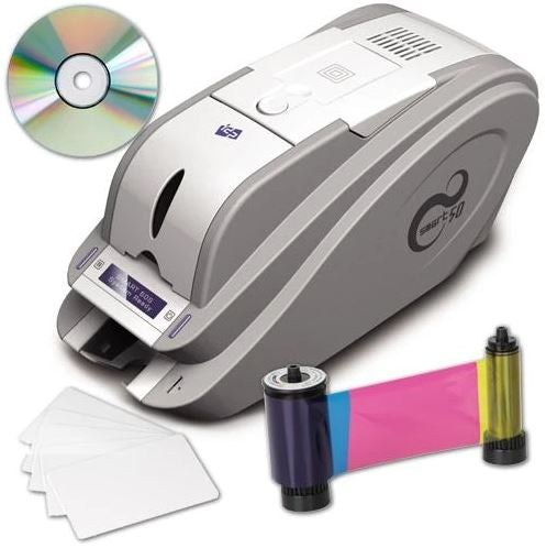 idp id badge printer