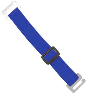 Royal Blue Adjustable Elastic Arm Band Strap - All Things Identification