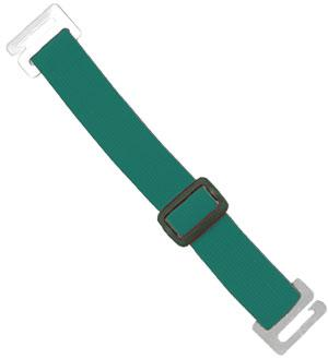 Green Adjustable Elastic Arm Band Strap - All Things Identification