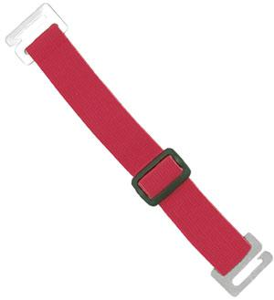 Red Adjustable Elastic Arm Band Strap - All Things Identification