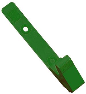 Green All Plastic Badge Clip - 100 - All Things Identification