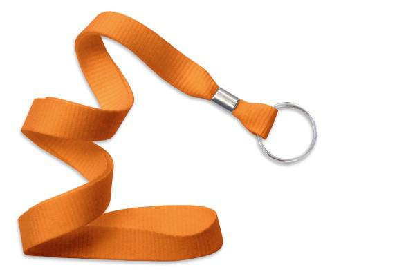 "Orange 5-8"" Lanyard Split Ring - All Things Identification"