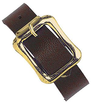 "6 1-2"" (140mm) Leatherette  Luggage Strap  Qty 500 2440-2003 - All Things Identification"