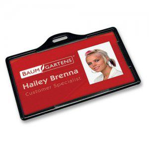 Baumgartens I.D. Card Holder - Horizontal (Qty 200) - 68310 - All Things Identification