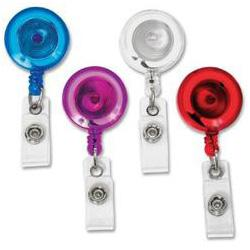 Retractable Reel with Spring Clip (Qty12) - 68844 - All Things Identification