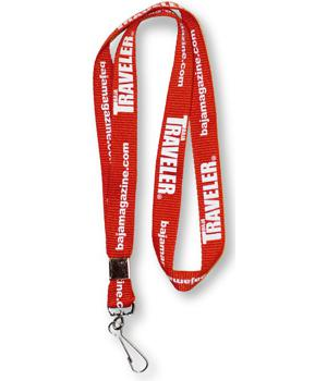 "Screen Printed Lanyard 100 - 3-4 "" x 36 "" - All Things Identification"