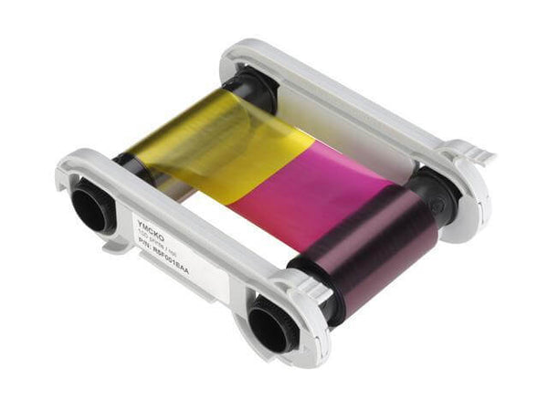 Evolis YMCKO Color Ribbon for Zenius and Primacy Printers (200 prints) R5F002AAA - All Things Identification