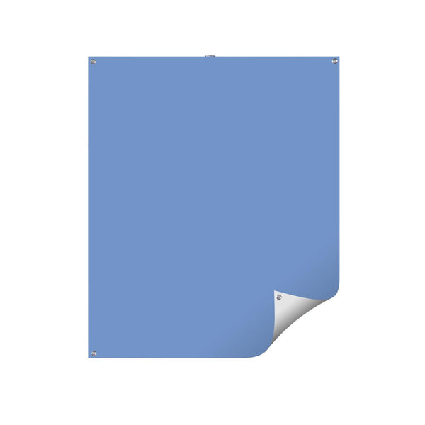 Photo ID Backdrop - REVERSIBLE White-Light Blue - All Things Identification