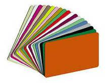 Color PVC Cards CR-80 (Qty 1000) P-10394C - All Things Identification