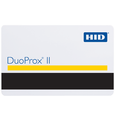 1336LG1MN HID DuoProx II Plain White Proximity Cards | Qty - 100 - All Things Identification