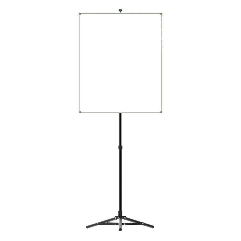 Portable Photo Backdrop Stand with White Backdrop - All Things Identification