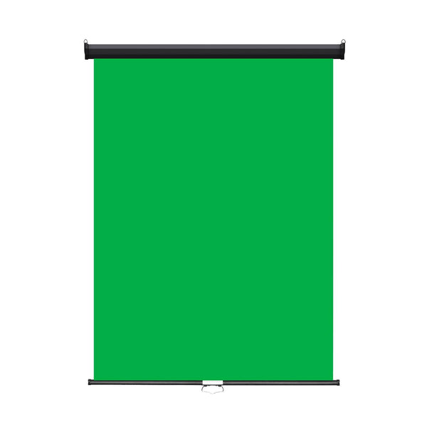 "Retractable Photo Backdrop, Black Casing, 36"" x 48"" - GREEN SCREEN - All Things Identification"