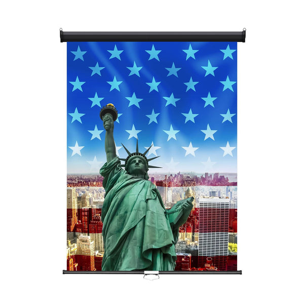 "Retractable Photo Backdrop, Black Casing, 36"" x 48"" - DIGITAL PRINT - All Things Identification"