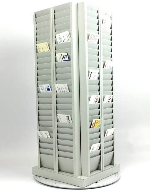 200 Card Badge Rack Holder - Free Standing - All Things Identification