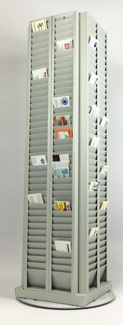 320 Card Badge Rack Holder - Free Standing - All Things Identification