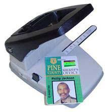 Stapler Style Id Badge Hole Punch - All Things Identification