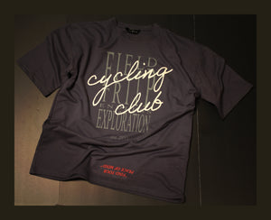 "Cycling Club ""FYPOM"" Tee - Ashphalt"