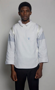 Multi-Seam Crewneck Dress Shirt